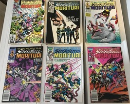 Strikeforce Morituri 1 - 31 Marvel Comic Book COMPLETE SET 1986-89 Minus... - $27.29