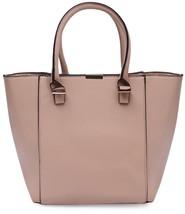Damara Womens Premium Metal Hardware Versatile Handheld Bag,Apricot - $75.40 CAD