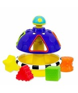 Sassy Sort and Spin STEM Shape Sorter Learning Toy Colors Ages 9 Months ... - $29.91