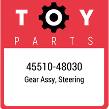 45510-48030 Toyota Gear Assy Steering, New Genuine OEM Part - $650.14