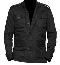 Celebrity Jon Dare Bernthal Black Castle Cotton Devil Jacket image 2