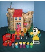 Vintage Fisher Price #993 Castle Comp./EXC++-NEAR MINT (restored) (M) - $250.00