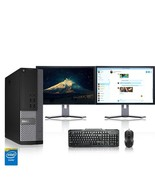 Dell Computer 3.1 GHz PC 8GB RAM 250 GB HDD Windows 10 - $347.10