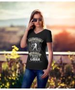 Women's Libra Zodiac V-Neck T-Shirt Astrology - $17.84