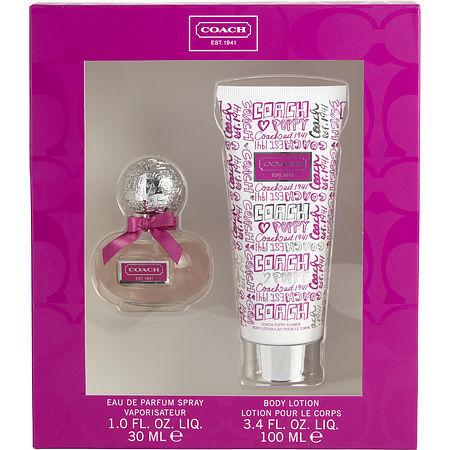 Coach poppy blossom perfume set