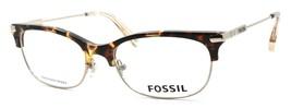 Fossil FOS 6055 OIM Women's Eyeglasses Frames 52-17-145 Gold / Havana + CASE - $79.00