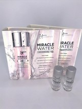 2x it Cosmetics Miracle Water Cleanser 3in1 Glow Tonic Travel .29oz/8.5ml mini - $8.86