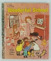 The Wonderful School Book 1969 Golden Press Walt Disney A Little Golden ... - $5.89