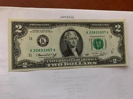 United States Jefferson $2 uncirc. banknote 1976 #12 - $9.95