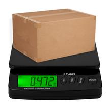 30KG/1G High Precision LCD Digital Postal Shipping Scale Black - $366,65 MXN
