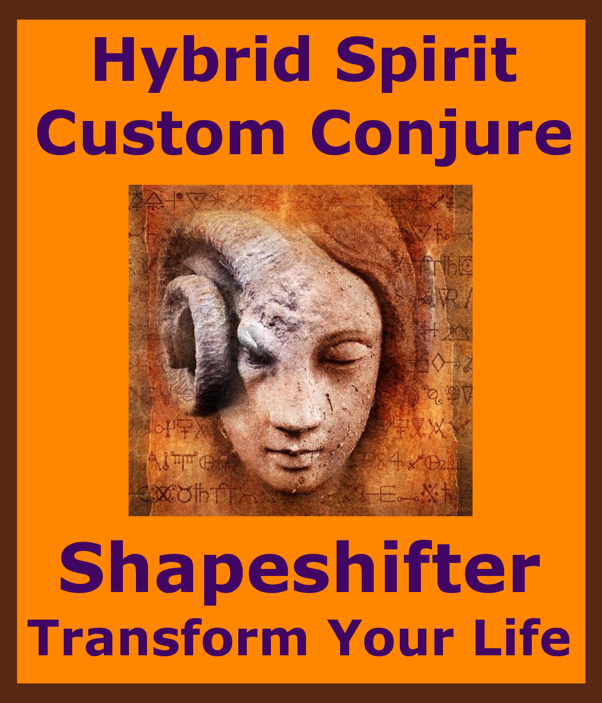 Primary image for gbs Hybrid Spirit Custom Conjure Tailor Made Spirit 4U Betweenallworlds Spell