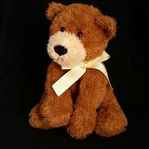 Teddy Bear Plush Mary Meyer Stuffed Animal FLIP FLOPS  Floppy Laying Bro... - $29.99