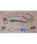 Vintage to New Costume Jewelry Lot 39 Pieces (#E108) - $28.00