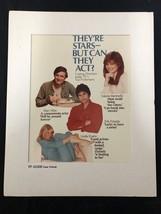 TV Guide Cover Print: Alan Alda-Linda Evans And Erik Estrada 1983 - $111.55