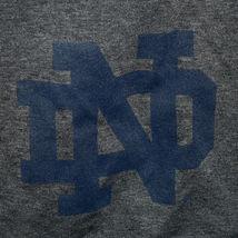 Under Armour Men's Loose HeatGear Dark Gray Notre Dame Logo Athletic Shorts MD image 3