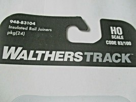 Walthers Track # 948-83104 Insulated Rail Joiners Package (24) HO Scale image 2