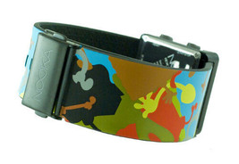 Nooka Zub Zot Aluminum SpongeBamo Spongebob Squarepants Digital LCD Watch NIB image 2