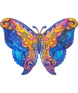 """Unidragon Wooden Jigsaw Puzzles """"Intergalaxy Butterfly"""" Wooden Puzzles -... - $59.99"""
