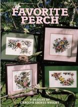 Favorite Perch Leaflet 3038  Chickadees, Warblers, Cardinal, Song Birds - $9.95