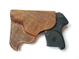 Pocket Holster Fits Ruger LCP 380 / Kel-Tec P3AT, Smith and Wesson Brown... - $26.00