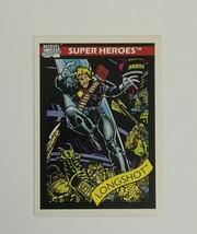 Marvel Universe 1990 Series 1 45 Longshot X-Men Trading Card  - $1.97