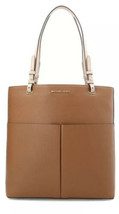 MICHAEL KORS MK Bedford Large North South N/S Tote Brown Acorn NWT - $123.50