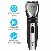 Hair Clippers for Men, FLYCO Electric Hair Cutting Kit Cordless Rechargeable Hai