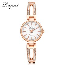 Lvpai® Fashion Casual Women Bracelet Watch Creative Ladies Quartz Diamond - $5.09+