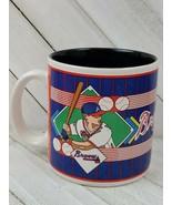 VINTAGE 1993 Atlanta BRAVES Coffee Cup Mug MLB Genuine Merchandise - $9.90