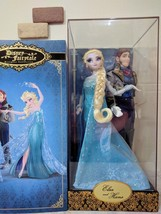 D23 EXPO japan 2015 2018 Elsa & Hans Doll Set Anna and Queen of the Snow Queen - $587.07