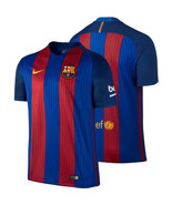 FC BARCELONA NIKE HOME MENS JERSEY 2016 2017 FOOTBALL SOCCER CLUB TEAM O... - $74.09