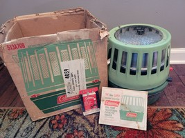 Coleman 1970's Heater Model 513A708 w/ Orignal Box & Instructions maybe unused - $120.00