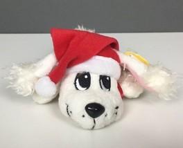 "2005 Mattel Pound Puppies Christmas Santa Plush With Tag 6"" - $19.79"