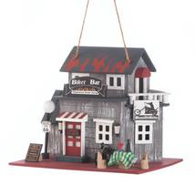 Bird Houses, Rustic Wooden Birdhouses, Modern Ornament Hummingbird Bar B... - $25.30