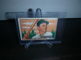 1951 Bowman Gum Baseball Card #17 Pete Castiglione Trading Card Good Con... - $8.90