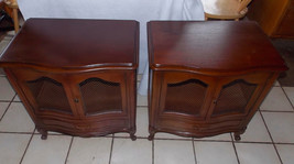 Pair of Mid Century Mahogany Nightstands / Side Tables by Drexel  (RP) - $449.00