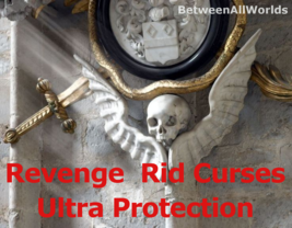 Black Magick Revenge Banish All Evil Curse And Ultra Protection + Wealth Spell   - $149.35