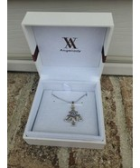 Angelady Necklace Christmas Tree Love Silver Plated Pendant Gift - $18.60