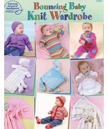 Bouncing Baby Knit Wardrobe 9 Designs PATTERN/INSTRUCTIONS Booklet - $4.47