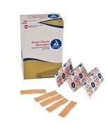 Dynarex Adhesive Sheer Strip Bandage 100/Box Strong Sheer Ventilated Pla... - $4.78+