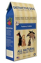 Grain Free Dog Treats, Pawberry Cobbler Training Natural Organic Dog Treat - $18.99
