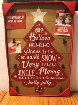Malden International Design Christmas Clip Display Frame Ships N 24h - $42.55