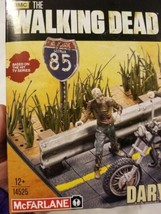 The Walking Dead Building Set Daryl With Chopper Mcfarlane Toys NEW 154 ... - $21.40