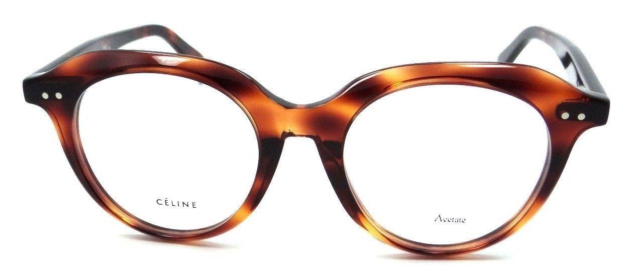 4a31e099d49 Celine Rx Eyeglasses Frames CL 41461 F 086 47-19-145 Dark Havana