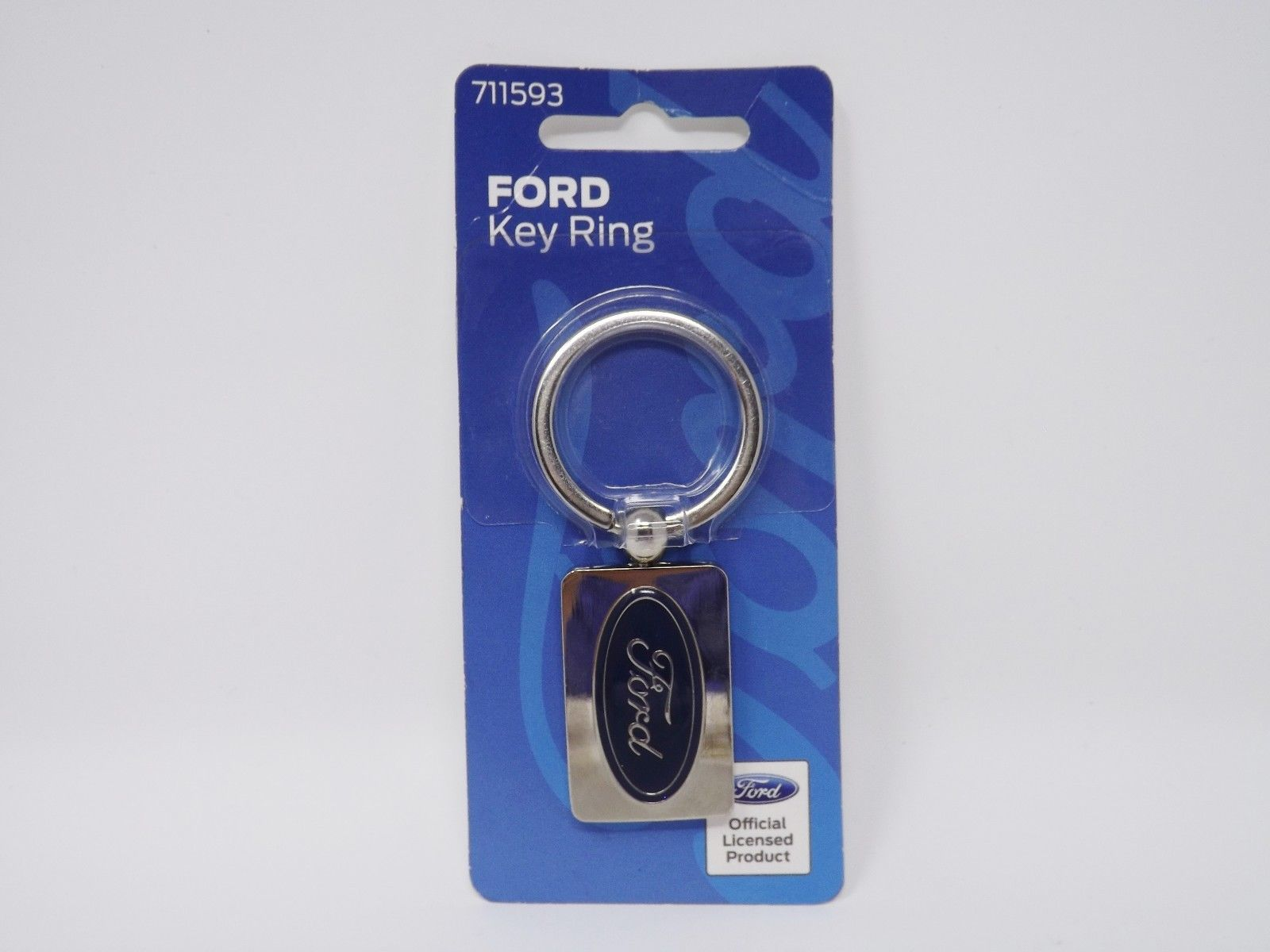 The Hillman Group - New - Metal Automobile Key Ring image 2