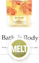 Bath and Body Works Autumn Fragrance Wax Melt &Wallflowers Refills, 2-Pack - $20.30