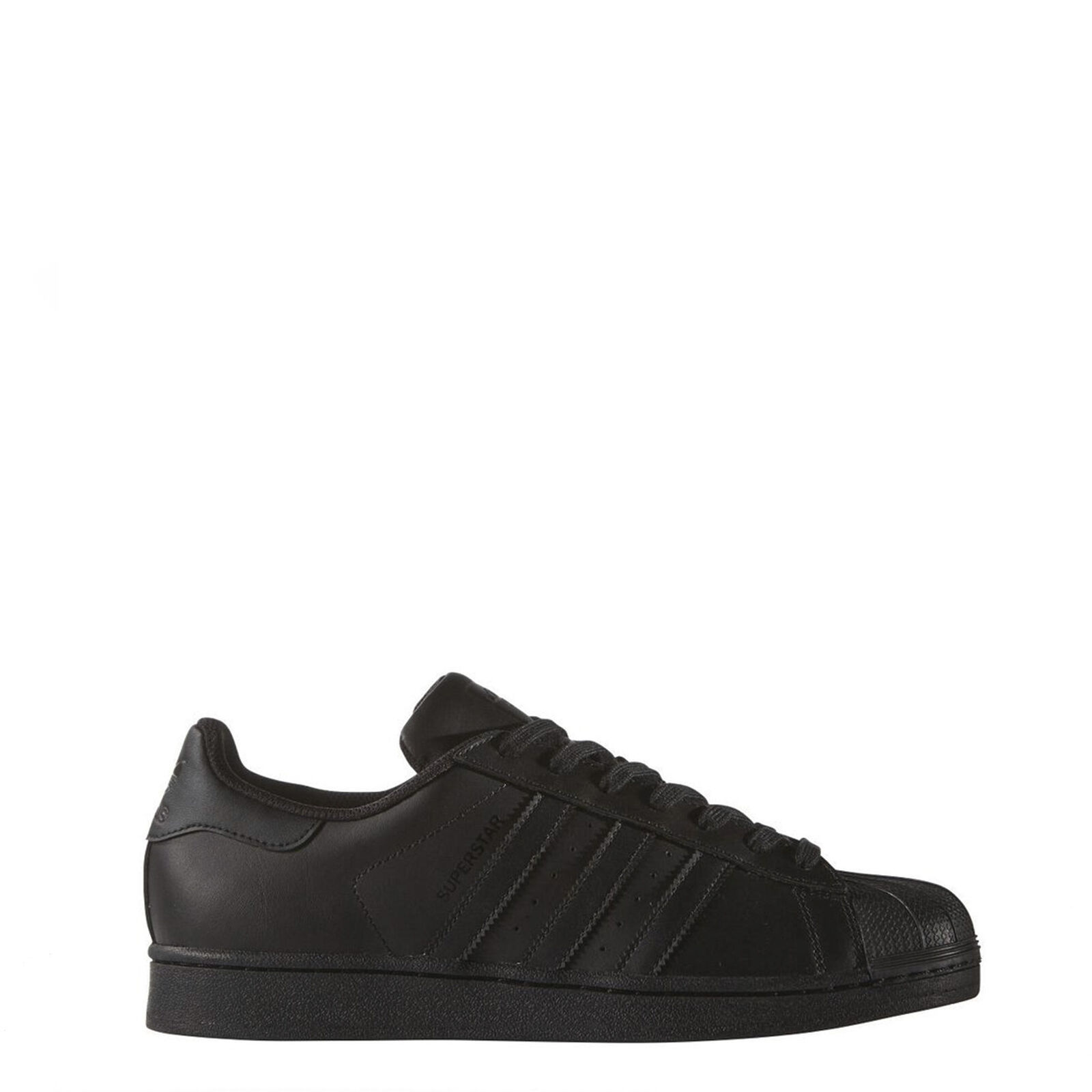 Scarpe Adidas taglie Uomo/Donna Superstar, Sneakers Nero Total Black o Bia-Rosso