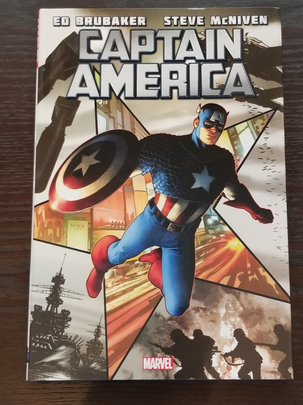 Captain America Volume 1 Hardcover Graphic Novel