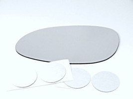 Fits 97-05 Century Regal Left Driver Mirror Glass Lens for Auto Dimming ... - $19.75