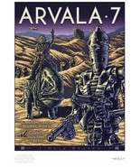 Star Wars The Mandalorian Arvala-7 IG-11 Giclee Poster Print Art 13x19 M... - $199.90